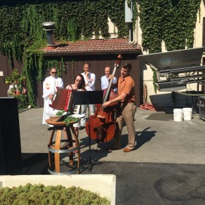 Sing-Along at Grgich's Blessing of the Grapes