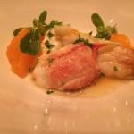Poggio dungeness crab with purslane, burrata, tangerine and fine herbs