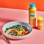 Splendid Spoon plant-based meal kit array